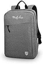 Mufubu Presents Iconic Slim Casual Laptop Backpack Bag for Students & Office Professionals (Grey)