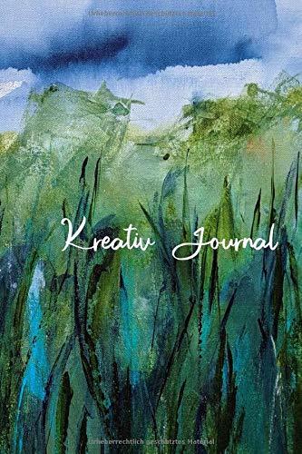 Kreativ-Journal: Notizbuch für kreative Ideen, Gedanken, Skizzen – Motiv: Sommergräser