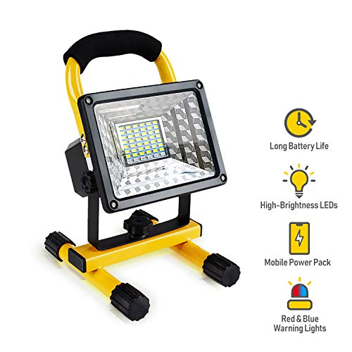 USB Rechargeable Led Work Light Spotlight Outdoor Camping Fishing Charger Mobile