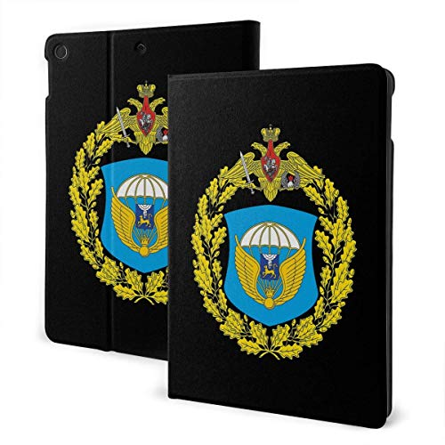 76th Guards Air Assault Division i-Pad case,for Ipad 7th Generation 10.2 Inch,Premium Leather Folio Stand Cover (Auto Wake/Sleep) IPD-3217