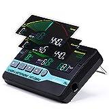 Asmuse 3 in 1 Metronomo, Accordatore e Generatore di Toni con Display LCD 800 per Cromatico, Chitarra, Basso, Ukulele, Violino