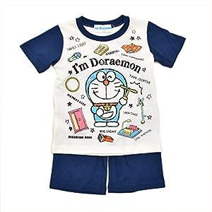 アイム ドラえもん 光る半袖 T シャツ生地 パジャマ (032DR7171) (110cm)