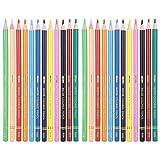 12 lápices de colores de pintura brillante de bellas artes de grado profesional fácil de identificar el color fuerte