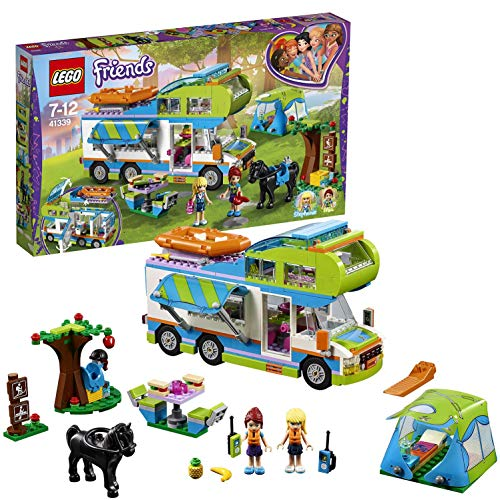 LEGO-Friends Il Camper Van di Mia, Multicolore, 41339