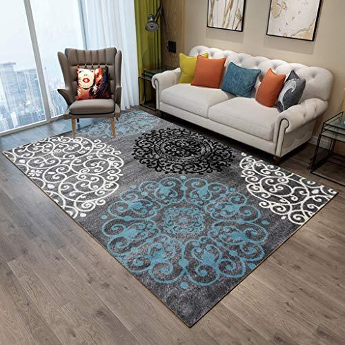 WinkJ Geometrisch vloerkleed van de driehoek, salontafel-sofadeken, tapijt van de Amerikaanse nationale kunst.