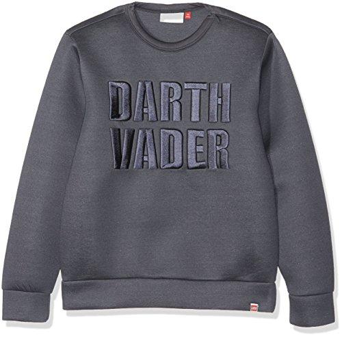 Lego Wear Jungen Lego Boy Star Wars Saxton 650-NEOPREN Sweatshirt, Grau (Dark Grey 984), 134