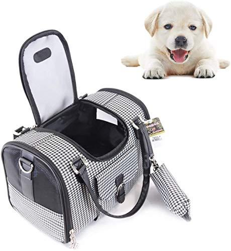 Transportin gato Pet Carrier lados suaves gato portador y portador del perro for los perros y gatos pequeños, viene con un bolsillo de la moneda, for medianos y pequeños animales, for el recorrido, co