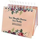 Milyya Motivational Calendar - Motivational Gifts for Women, Desk Decor for Women, Daily Inspirational Quotes, Desk Decorations for Women Office, Inspirational Gifts for Women, Cute Office Decor