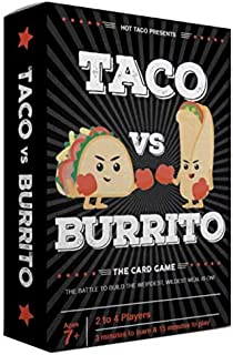 Taco vs Burrito - The Wildly Popular and Surprisingly Strategic Card Game Created by a 7 Year Old