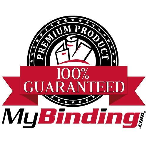 "Black Velobind Compatible Hot Knife Binding Strips - 100pk (1"" x 11"" ~ 250 Sheets) Photo #3"