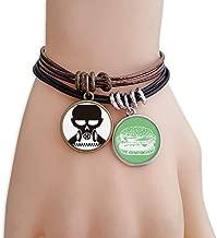 DIYthinker Pollution Biochemical Cyborg Gas Mask Bracelet Rope Hamburger Wristband