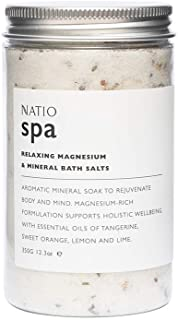 Natio Spa Relaxing Magnesium & Mineral Bath Salts, 350 g