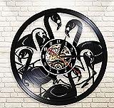 Reloj De Pared Exclusivo De Cuarzo Tropische Tiere Reloj De Decoración Grabado con Láser Reloj...