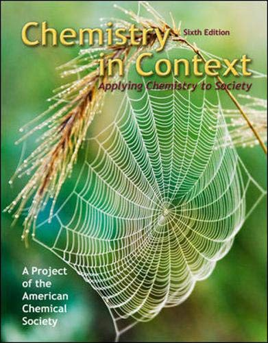 Top chemistry in context 6th edition for 2020