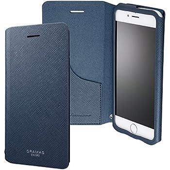 坂本ラヂヲ iPhone 6s/6用 GRAMAS COLORS PU Leather Case ネイビー GCLC4006NV
