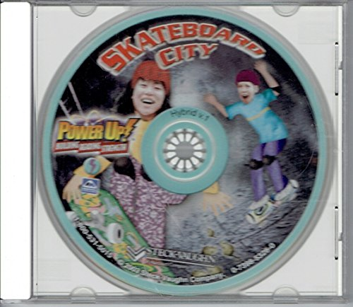 Steck-Vaughn Power Up!: Book on CD Grades 6 - 8 (Level 1) Skateboard City