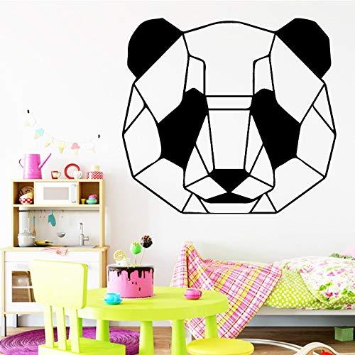 Tianpengyuanshuai Digitale olieverfschilderij decoratief schilderij landschap schattige panda muursticker Home Decal