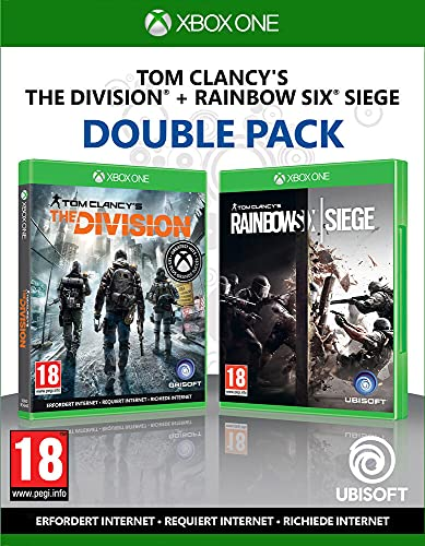 Compilation Tom Clancy's: Rainbow Six Siege + The Division Xbox One