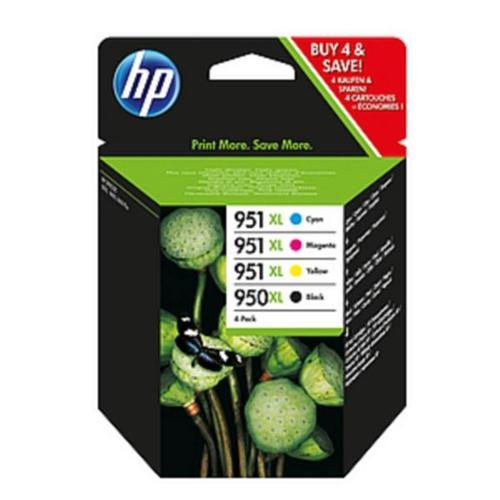 Hewlett Packard HP Nr. 950X L/951X L Inkjet Tintenpatrone Combo Multi Pack CMYK Ref C2P43AE Pack 4113909