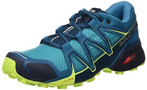 Salomon Speedcross Vario 2 W, Zapatillas de Trail Running para Mujer, Negro (Black/North Atlant/Biscay Green 000), 36 2/3 EU