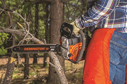 Remington RM4216 16-inch Gas Powered Chainsaw with Carrying Case