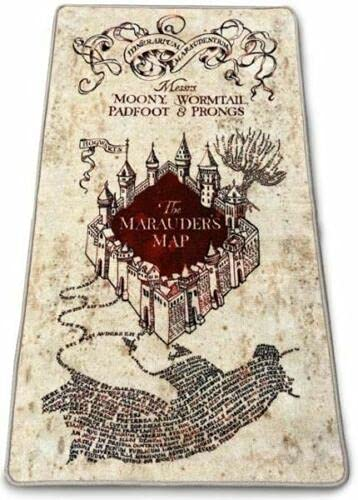 Harry Potter Teppich für den Innenbereich, Karte des Rumtreibers 76 x 133 cm