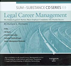 Sum and Substance Audio on Legal Career Mgmt: The Hidden Legal Job Market