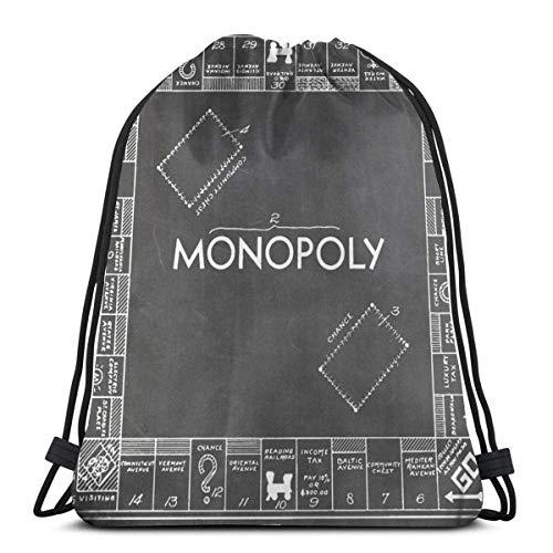 Almost-Okay-Shop M-Onopoly Brettspiel Us Patent Art 1935 Tafel Kordelzug Sport n Tasche Reisetasche Geschenktüte