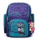 Mochila Infantil XYDBB Dibujos Animados Oso Búho Ergonómico Diseño Schoolbag...