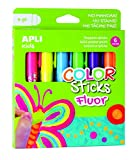 APLI Kids 14404 - Color Sticks fluorescente 6 g 6 u.