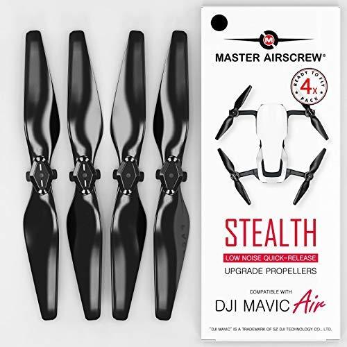 Hélices MAS Stealth para DJI Mavic Air - Negro 4 piezas