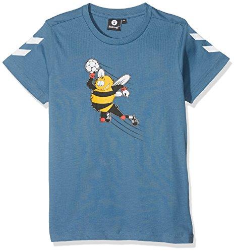 Hummel Jungen Kevyn Short Sleeve Tee AW17 T-Shirt, Multi Colour Boys, 122
