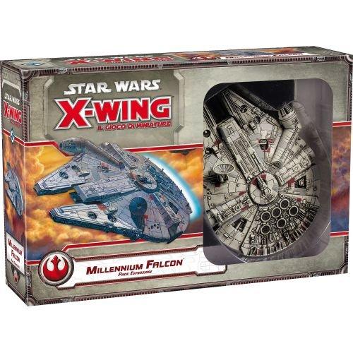 Asmodee-GTAV1029 Star Wars X-Wing Il Gioco di Miniature espansione Millennium Falcon, Colore, 9911