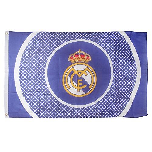 Real Madrid Bullseye Fahne (5' x 3') - eine Größe