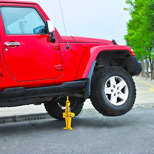 E-HEELP Electric Car Jack 3 Ton 12V Lifting Range 12-42cm Scissor Jack with Storage Box for SUV Tire Changes