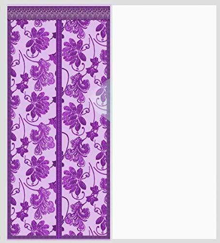zmmammon,6 Size Magnetic Screen Türvorhangnetz Anti-Insekten-Mesh Fly Screen Moskito-Schutznetz Magnetvorhänge für Türen Windows 90x200cm