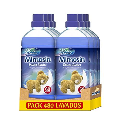 Mimosin Suavizante Concentrado Dulces Sueños 60 lavados - Pack de 8