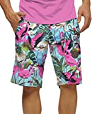 Loudmouth Mens Flamingo Golf Shorts 40W Pink/Multi