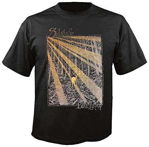 SOLSTAFIR - Gold - Berdreyminn - T-Shirt Größe XL
