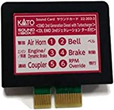 Kato KAT222032 Sound Card, EMD 2nd Gen Diesel w/Turbo Sound Card