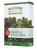 Awesome Foods, Organic, Gluten-Free, Plant-based, Non-GMO, Original Kale Chips, 6 Pack