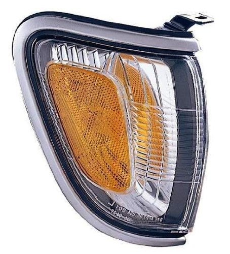 Depo 312-1547R-AS9 Toyota Tacoma Passenger Side Replacement Parking/Side Marker Lamp Assembly (Silver)