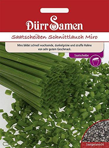 Dürr Samen - Saatscheiben Schnittlauch Miro