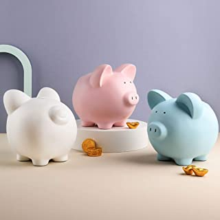 Decoration Creative Cute Piggy Resin Piggy Bank Bedroom Bedroom Children's Toys Adult Boys And Girls Holiday Gifts big pig...