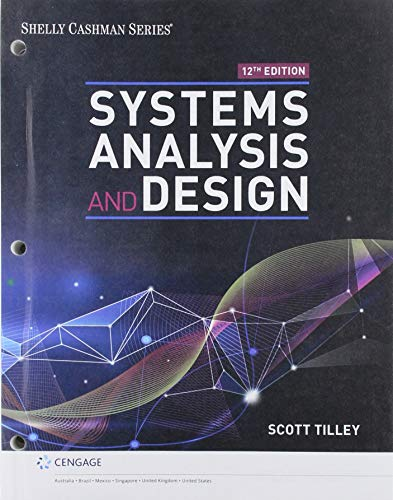 Bundle: Systems Analysis and Design, Loose-leaf Version, 12th + MindTap, 1 term Printed Access Card