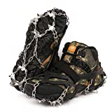 Ice Cleats for Shoes and Boots, Microspikes, Shoe Ice & Snow Grips, Crampons for Hiking Boots, Shoe Spikes for Snow and Ice, Ice Shoes Grippers, Snow Cleats, Ice Grippers