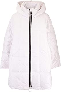 IENKI IENKI Luxury Fashion Womens CROPPEDPYRAMIDEIVORYWHITE White Down Jacket   Fall Winter 19