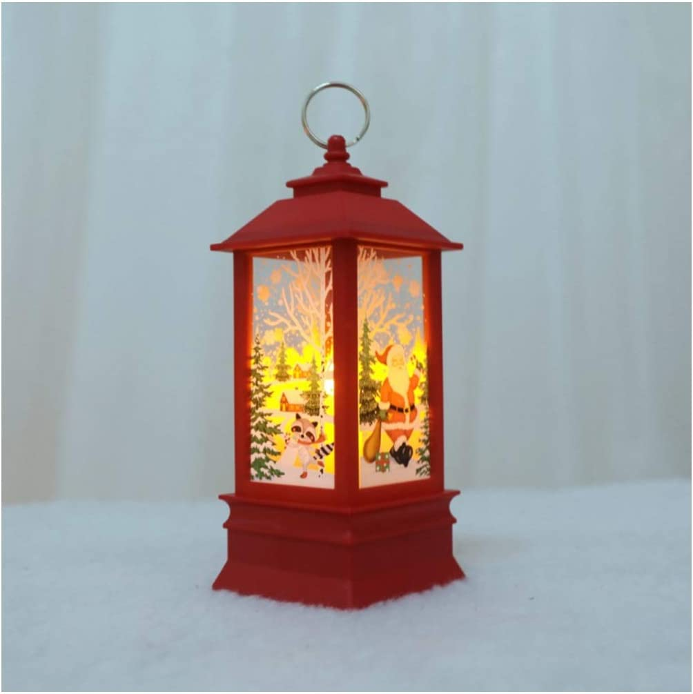 LMZ Bargain sale Santa Claus Ranking TOP16 Flame Light Home Christmas Angel Sn Decoration