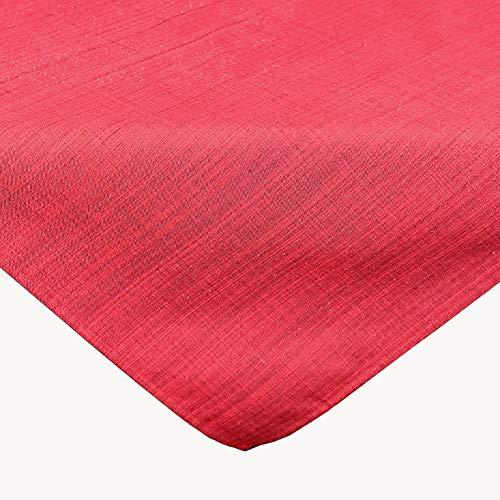 Raebel OHG Outdoor tafelkleed, weerbestendig, voor binnen en binnen, keuze uit verschillende maten en kleuren 90 x 90 cm rood
