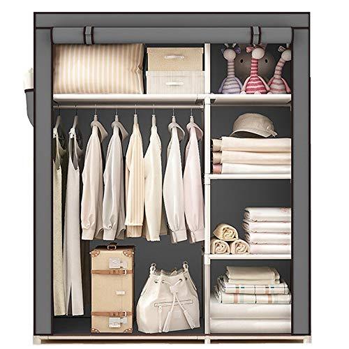 LiChaoWen kunststof commode laden voor kleding woonkamer slaapkamer groot volume, eenvoudige montage dikke stoffen kleding kast opslagkast